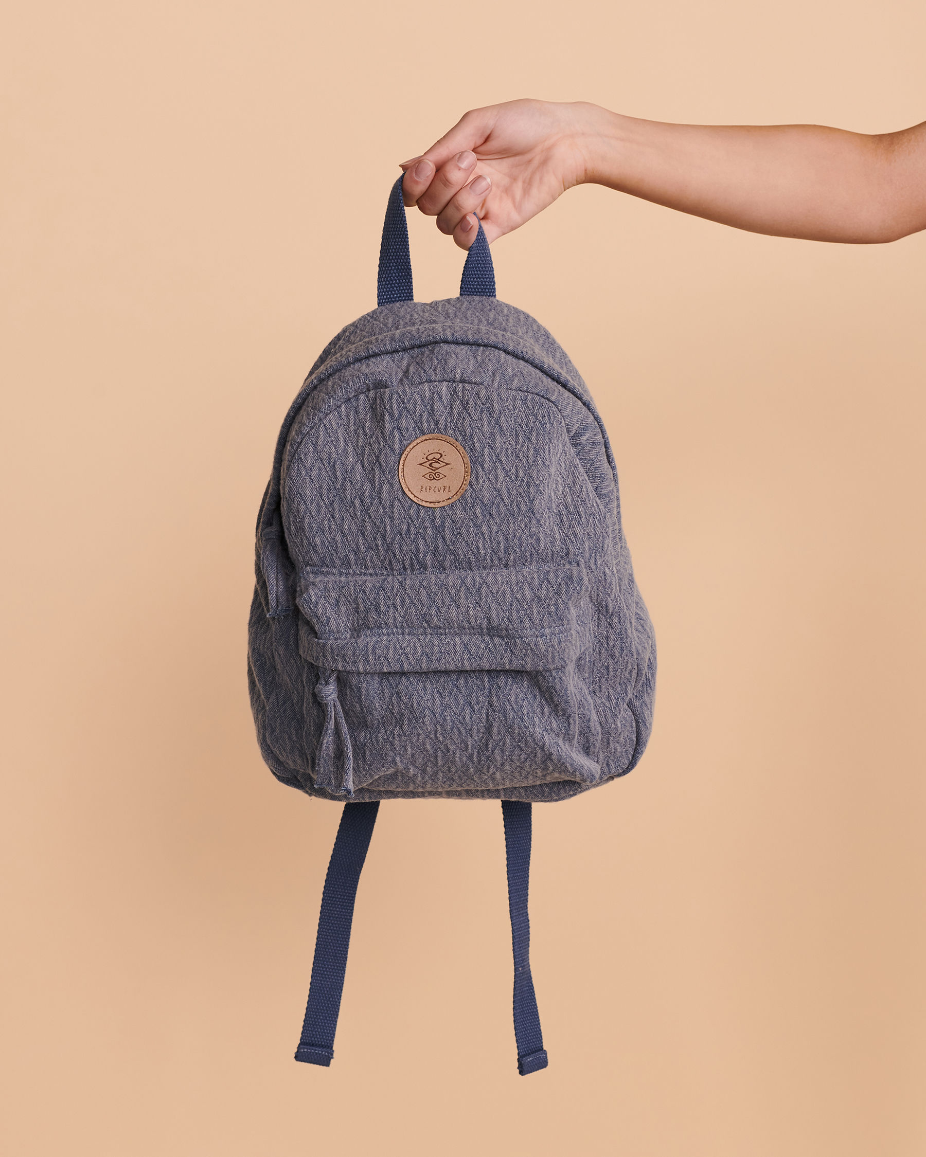 RIP CURL Jacquard Cotton Mini Backpack Washed navy LBPOP1 - View2