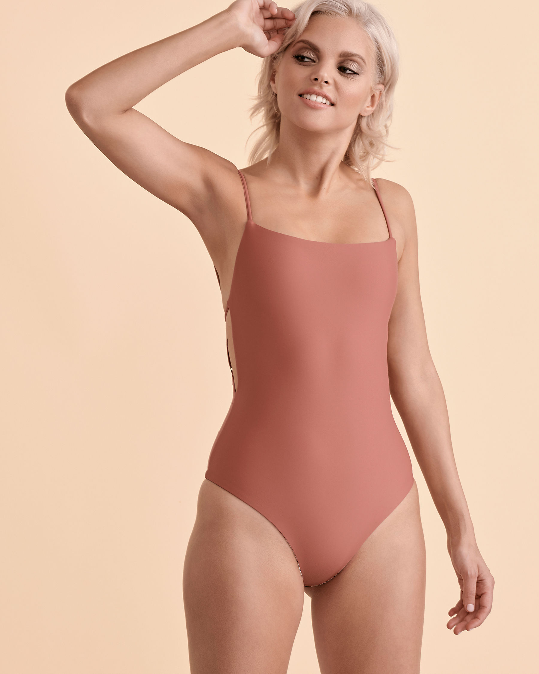 RIP CURL Reversible High Waist Cheeky One-piece Swimsuit Reversible GSIOX9 - View2