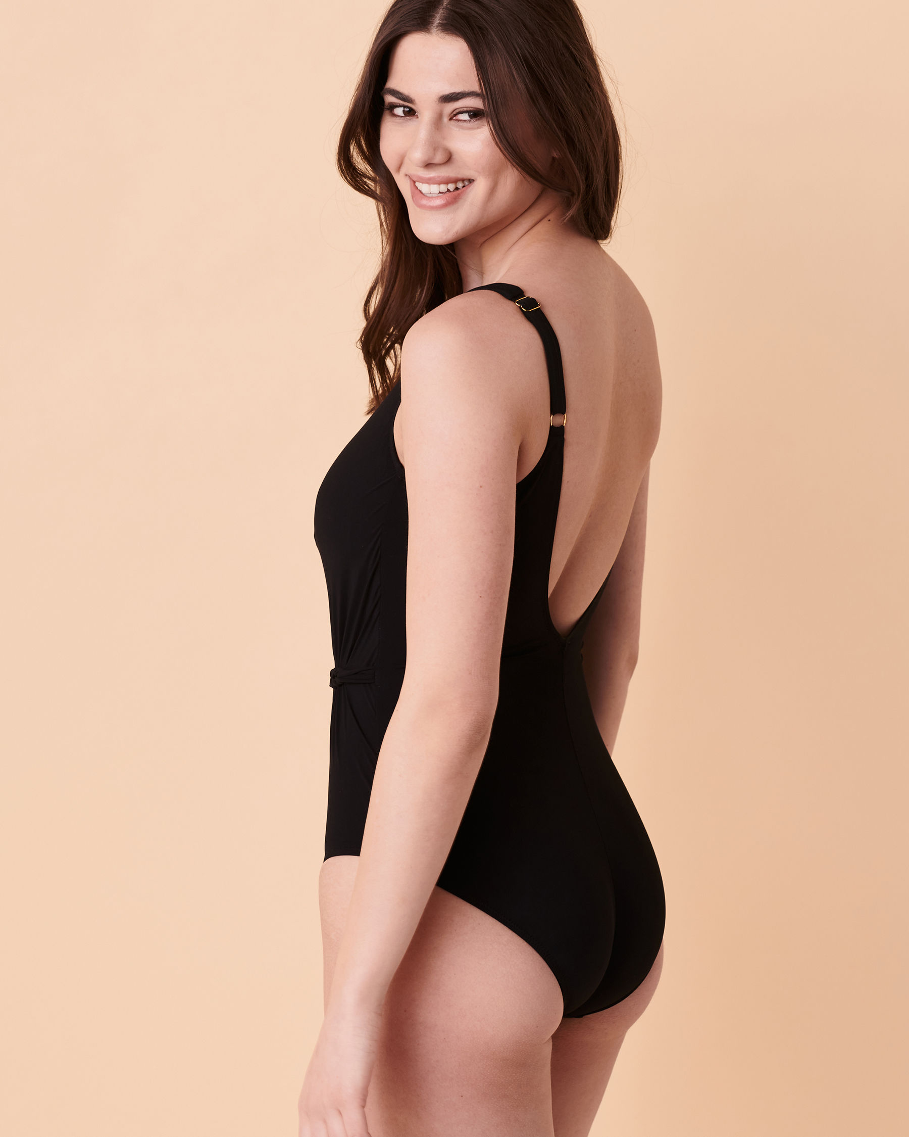 GOTTEX BRAIDED ELEGANCE One-piece Swimsuit Black 21BE151 - View2