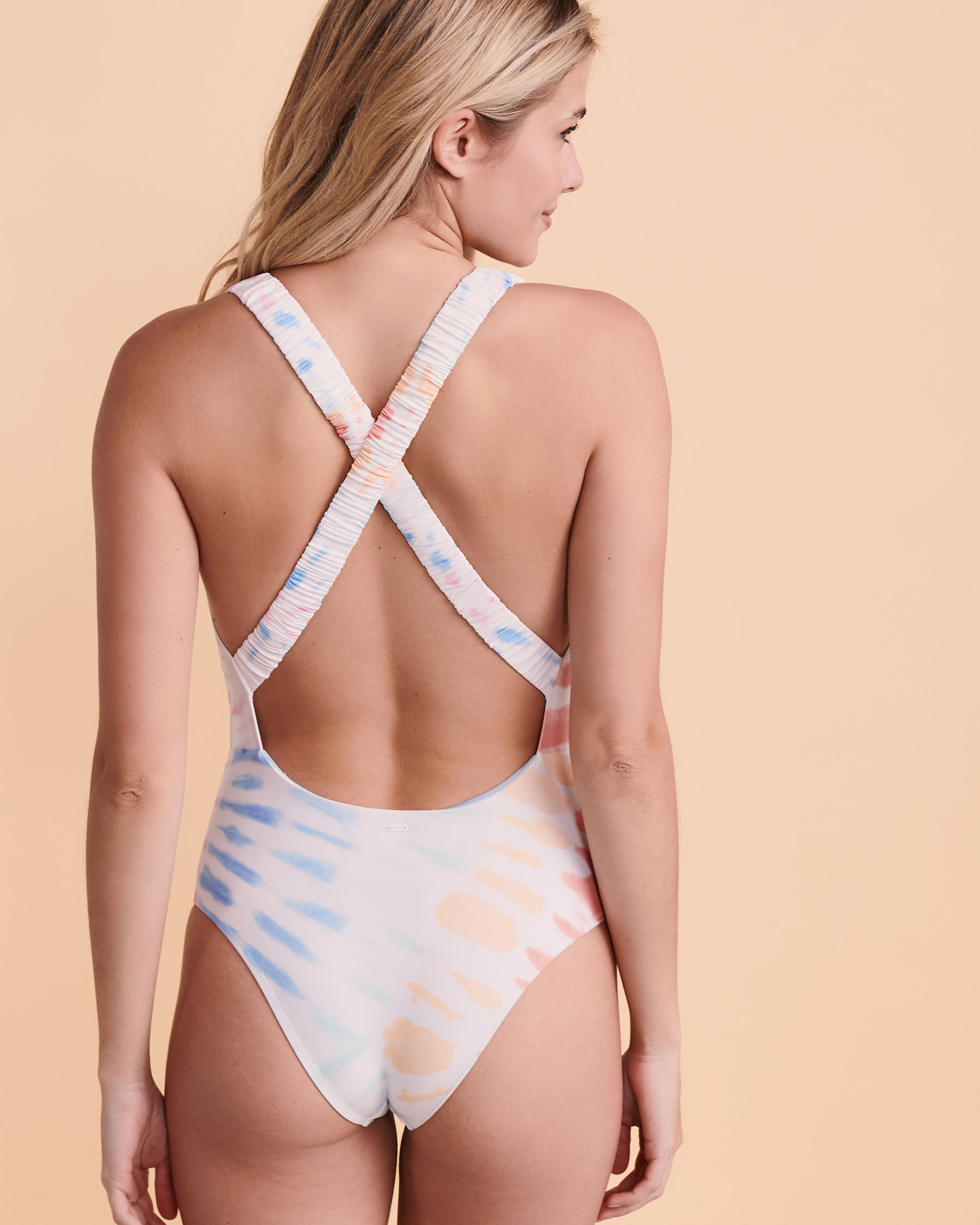 RIP CURL Maillot une-pièce cheeky WIPEOUT Tie-dye GSIMI9 - Voir4