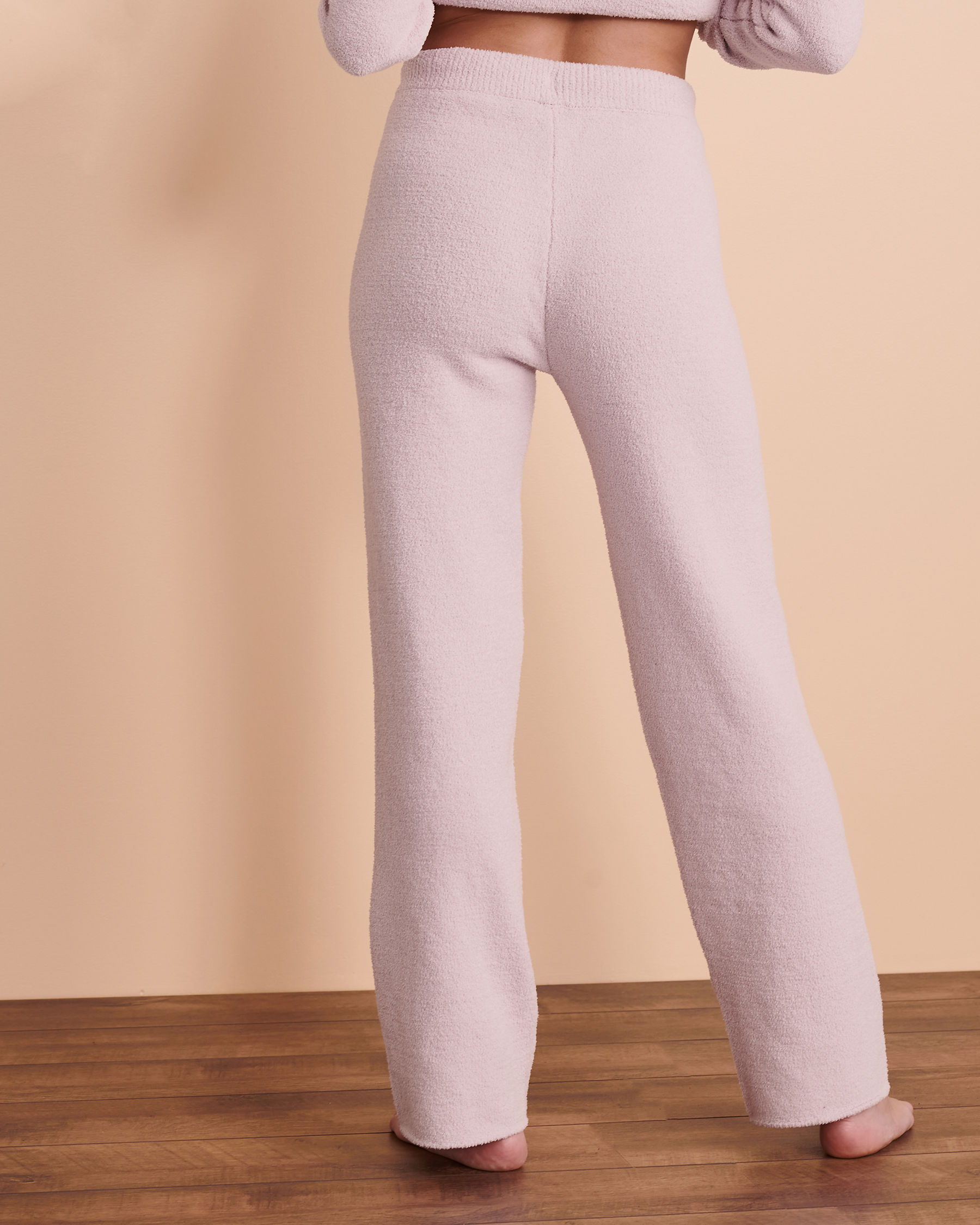TURQUOISE COUTURE Chenille Lounge Pant Very soft lilac 02200015 - View2