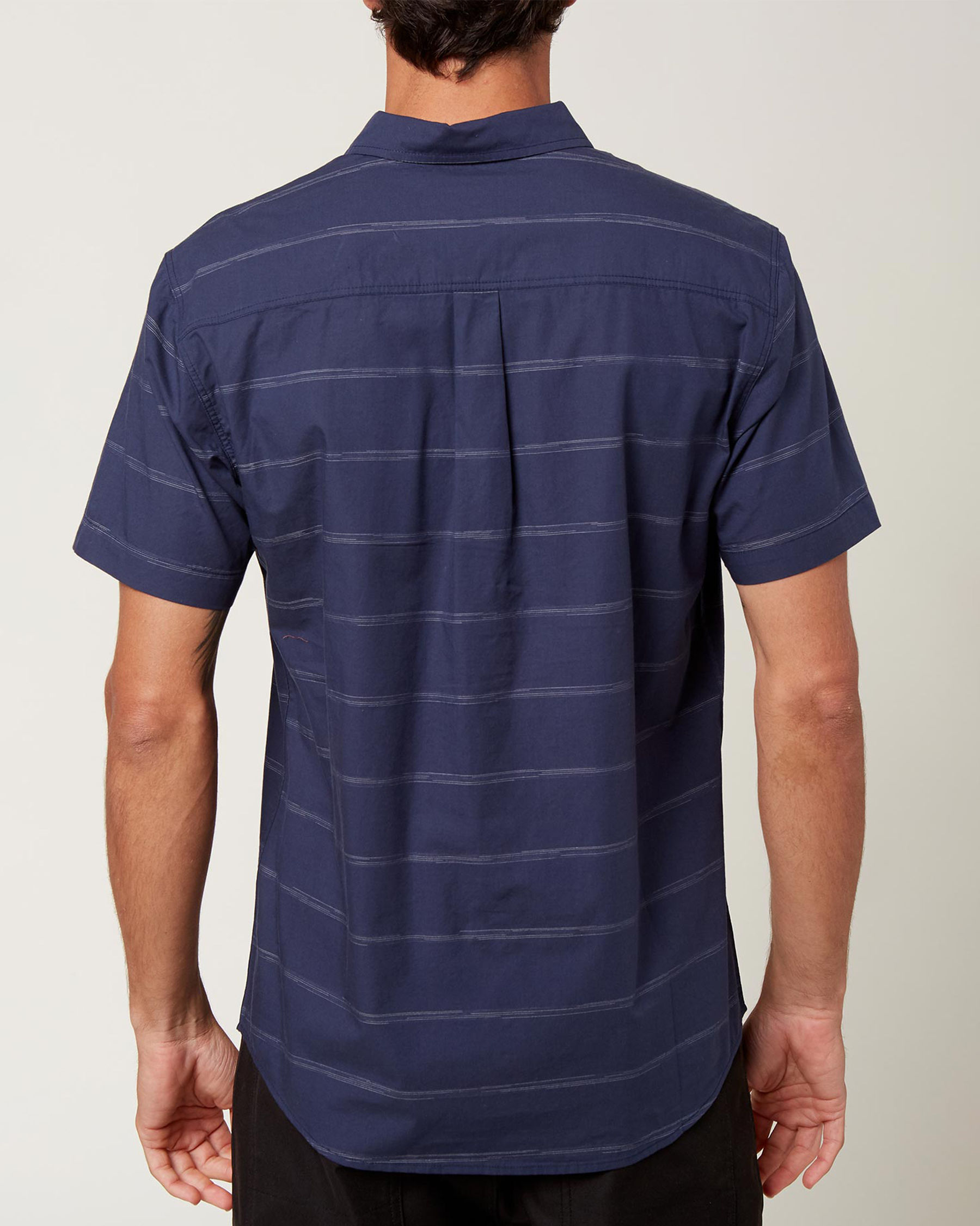 O'NEILL Chemise manches courtes IMPERIAL STRIPE Rayures marines SP1104110 - Voir2