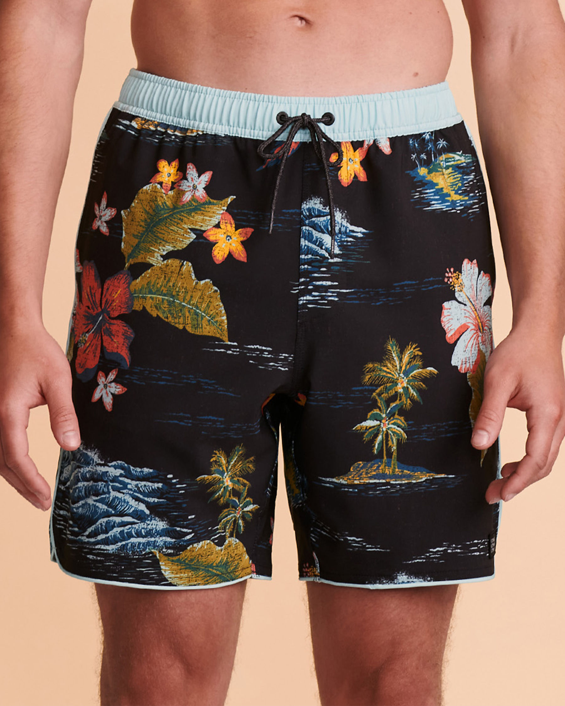 O'NEILL EXCHANGE Volley Swimsuit Tropical print SP1106018 - View1